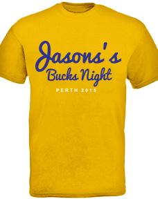 Stock design for a custom buck t-shirt