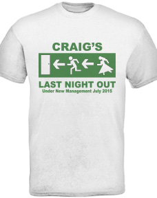 Custom Bucks Party T-Shirts