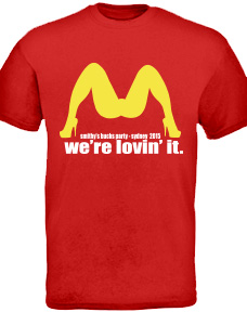 T-shirt ideas for a bucks party