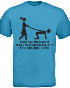 Bucks Night T-Shirt stock logo