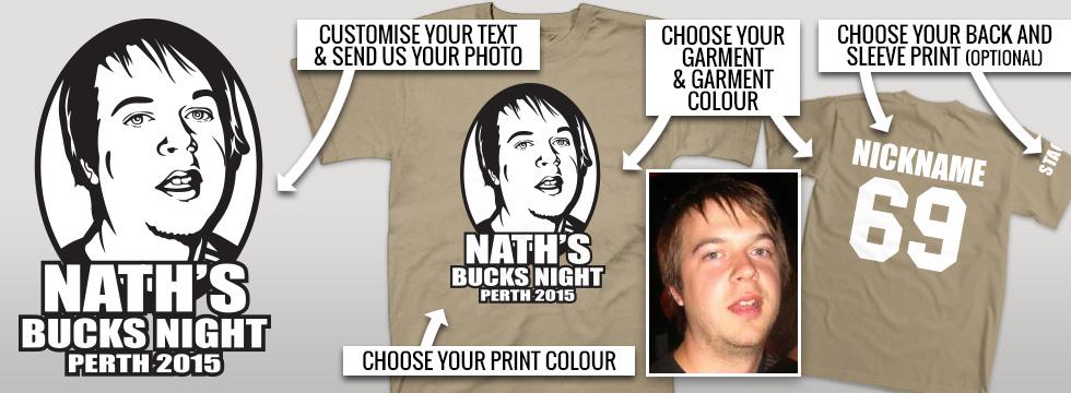 Custom Bucks Shirts design