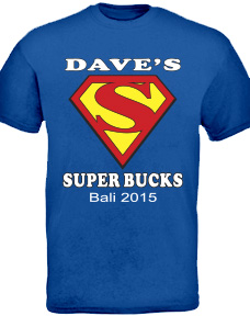 Personalised Bucks Night T-shirts