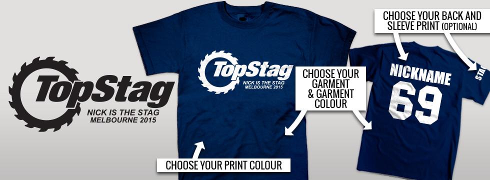 Buck Night T-Shirts stock design