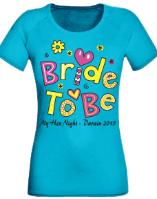 Bride T Shirts - Funky Bride To Be