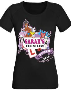 Hens Party T Shirt stock logo