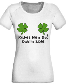 Personalised Hens Party Tshirts logo