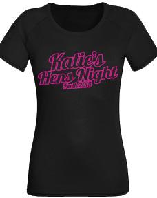 Hen Night Personalised TShirt