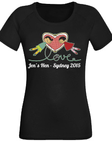Classy Hens T-Shirt - Loving Arms stock logo