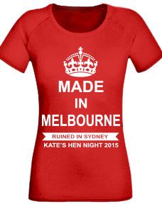 Custom Hens T-Shirt design