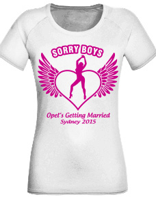 Hen Party T Shirts - Sorry Boys