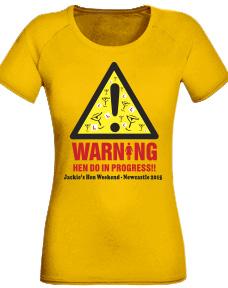 Hen Party Tee Shirts design