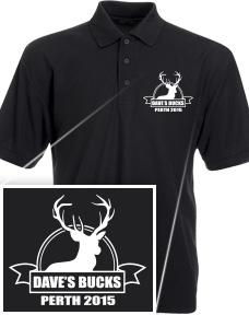 Bucks Tshirts stock design