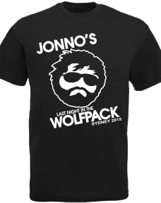 Wolfpack Bucks Night T-Shirt