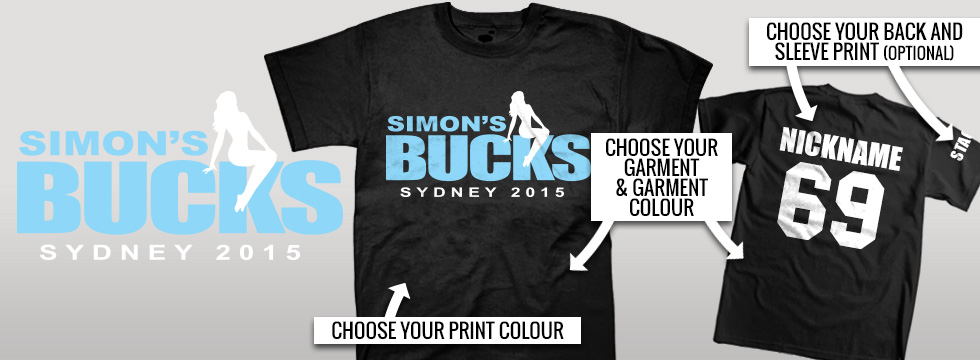 Bucks Night Shirts design