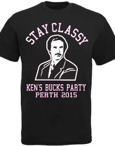 Custom Bucks Night T-Shirts