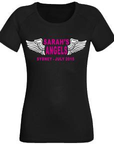 Hens Night Shirt - Angels Wings
