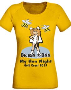 Bride 2 Bee hens night t-shirt
