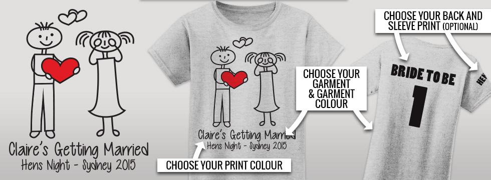 Hand Over Heart hens t-shirt design
