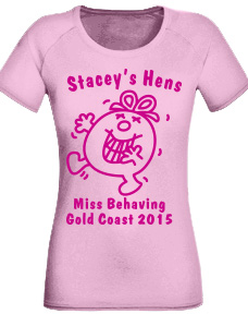 Hen Night Tee Shirts stock logo